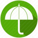 Umbrella Green Icon